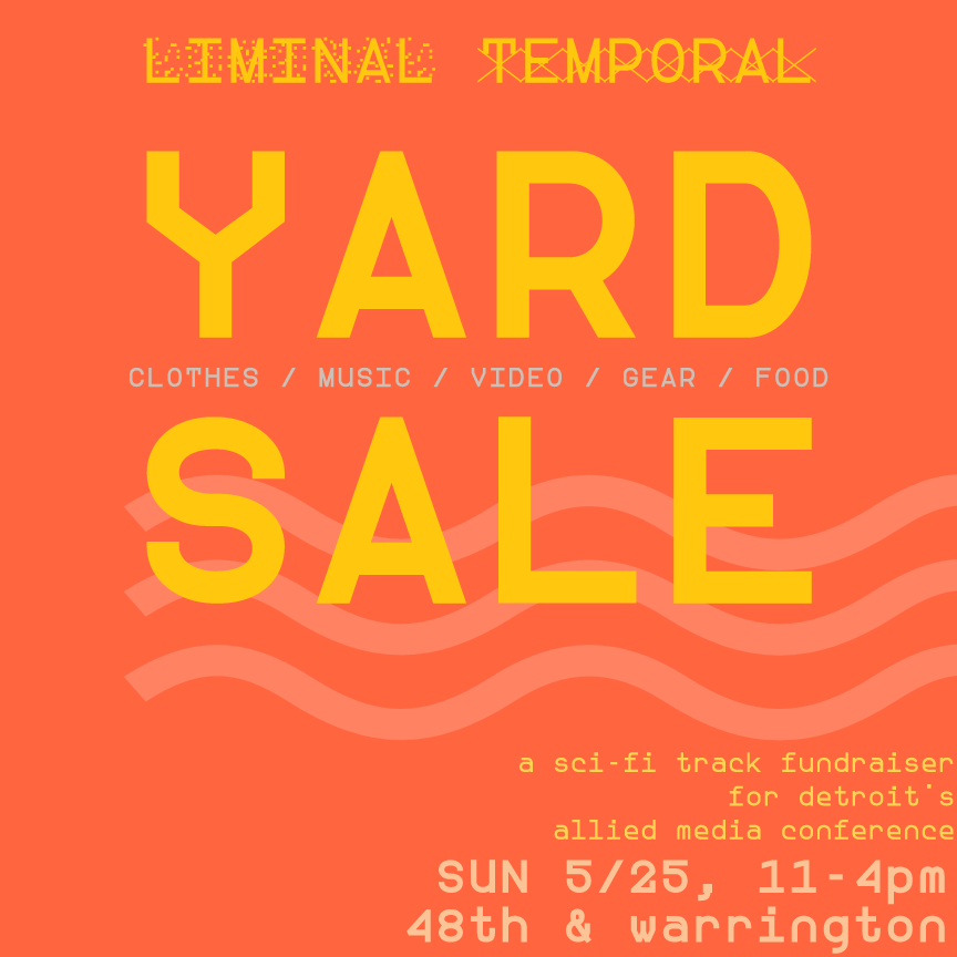 yard sale fundraiser may 25 2014