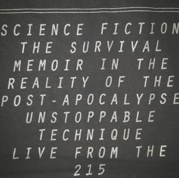 SCIENCE FICTION THE SURVIVAL MEMOIR